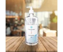 [Dezinfekční gel na ruce Emspoma s pumpičkou, 1000 ml]