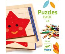 [Dřevěné hůlkové puzzle]
