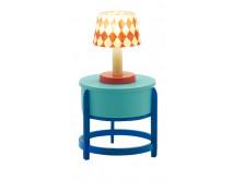 [Nábytok do domčeka - Lampa so stolíkom]