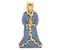 [Drevená figúrka - Kráľ]