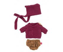 [Oblečenie pre bábiky - 21 cm - Jesenná súprava pre chlapca]