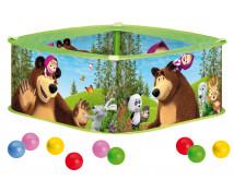 [Bazén s loptičkami - Máša a medveď]