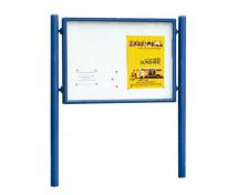 [Exteriérová vývesná tabuľa, 120 x 160 cm, modrá]