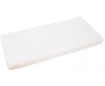 [Napínacia plachta, froté, 120 x 60 cm - biela]