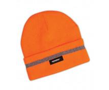 [Reflexná zimná čiapka - oranžová]