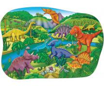 [Veľké podlahové puzzle - Dinosaury]