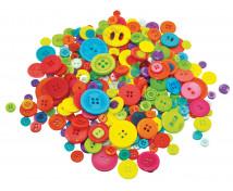 [Gombíky rôznych tvarov a farieb]