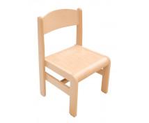 [Dřevěná židle EXTRA BUK přírodní - 26 cm]