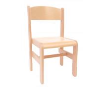 [Drevená stolička Extra BUK -  prírodná - 31 cm]