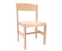 [Dřevěná židle Extra BUK přírodní - 38 cm]