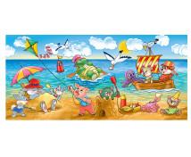 [Panoramatické puzzle - Zvieratká pri mori]