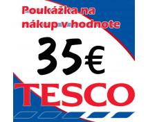 [Tesco poukážky v hodnote 35 €]