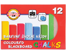 [Kriedy farebné štvorcové, 12 farieb]
