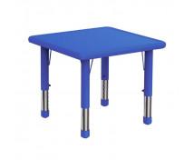 [Plastová stolová deska - čtverec - modrá]