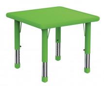 [Plastová stolová deska - Čtverec - zelená]