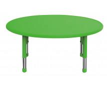 [Plastová stolová doska - kruh - zelená]