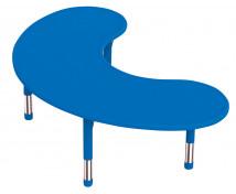 [Plastová stolová doska - polmesiac - modrá]
