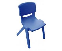 [Stolička plast. 38 cm modrá]