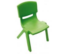 [Stolička plast. 38 cm zelená]