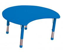 [Plastová stolová deska - Kruh výsek - modrá]