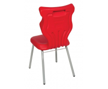 [Dobrá stolička - Classic - výška sedu 38 cm - červená]