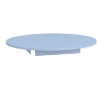 [Farebná stolová doska - kruh 90 - modrá]
