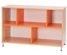 [Skříňka nízká - oranžová]