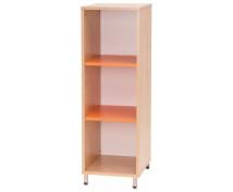 [Skříňka úzká - oranžová]