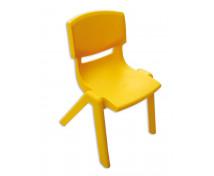 [Stolička plast. 30 cm žltá]
