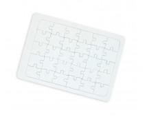 [Bílé puzzle A4]