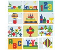 [Mozaika Superhríbiky - vzorové karty do tabule]