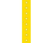 [Dvere Veľké - MDF - kvety - žlté]