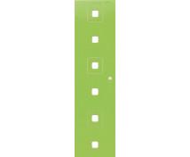 [Dvere Malé - MDF - štvorce - zelené]