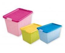 [Plastový box Jasmin 5, na kolečkách]