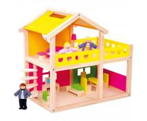 [Domček s nábytkom a bábikami]