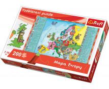 [Puzzle Puzzle - Mapa Európy (ceska verzia)]
