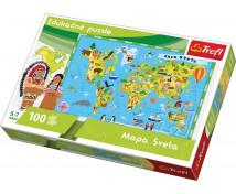 [Puzzle - Mapa Sveta (slovenska verzia)]