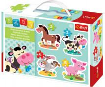 [Baby puzzle - Zvieratká z farmy]