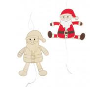 [Vyrob si darček - Ťahací panáčik - Santa]