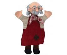 [Textilné maňušky s nohami - Dedko Djepeto]