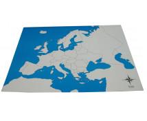 [Kontrolna mapa - Europa - bez opisu]