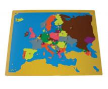 [Puzzle - Mapa Europy]