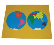 [Puzzle - mapa sveta]