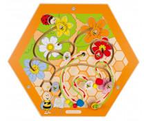 [Nástěnný labyrint včelka 1]