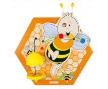 [Nástenný labyrint včielka - Včielka 3 (59 x 50 cm)]
