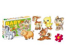 [BABY Puzzle - Domáce zvieratká]