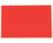 [Korková tabuľa - far.1 60x90 červená]