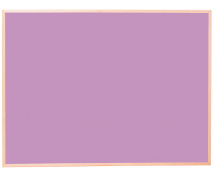 [Korková tabuľa - far.2 90x120 fialová]