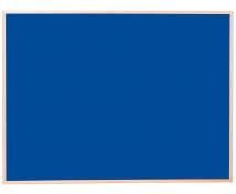 [Korková tabuľa - far.2 90x120 modrá]