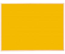 [Korková tabuľa - far.2 90x120 žltá]